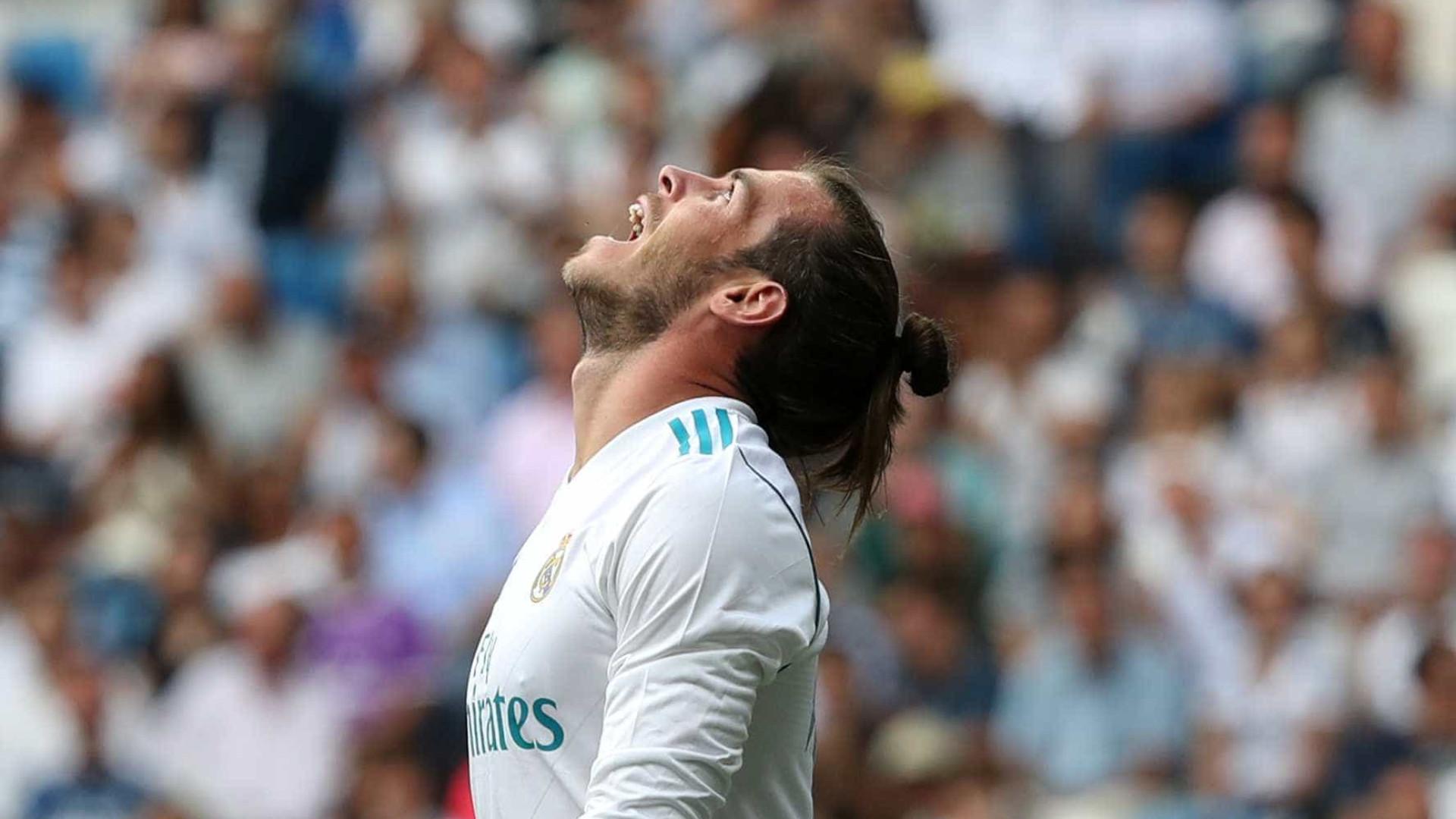Gareth Bale sofre nova lesão no Real Madrid