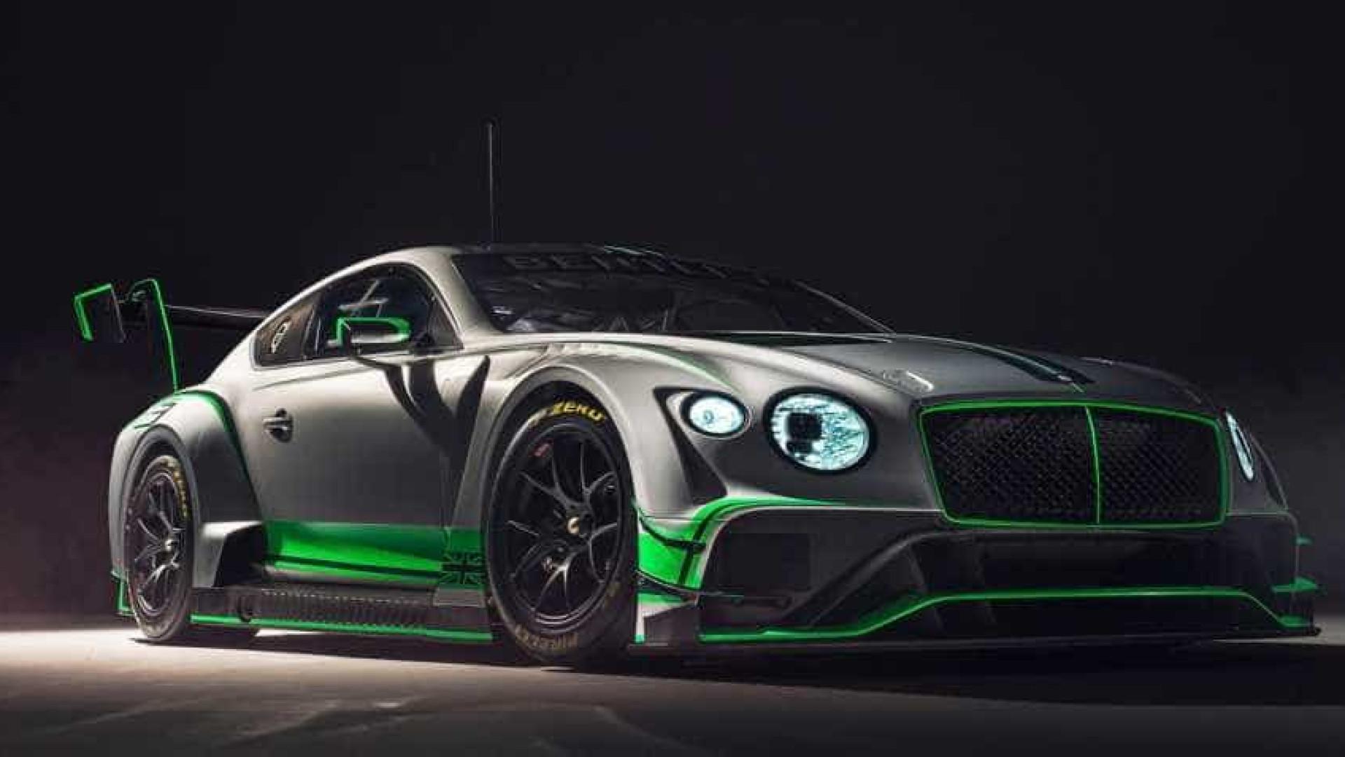 Bentley prepara novo Continental para 'atacar' os circuitos