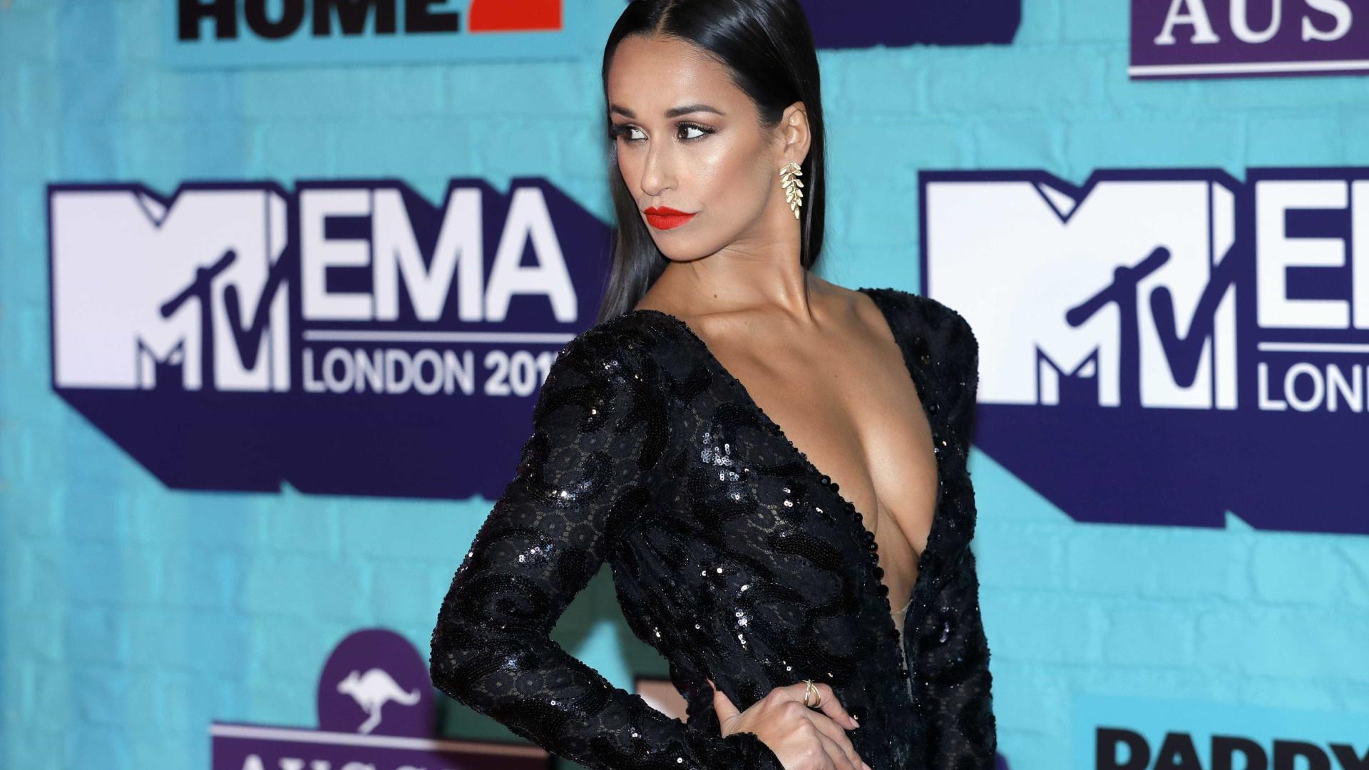 Há quem questione a originalidade do look de Rita Pereira nos MTV EMA