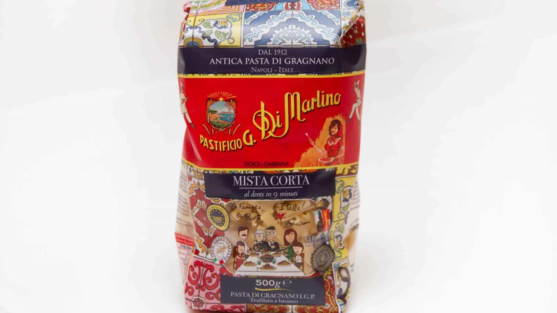 Massa de luxo: Dolce & Gabbana vai vender 'pasta' tradicional italiana