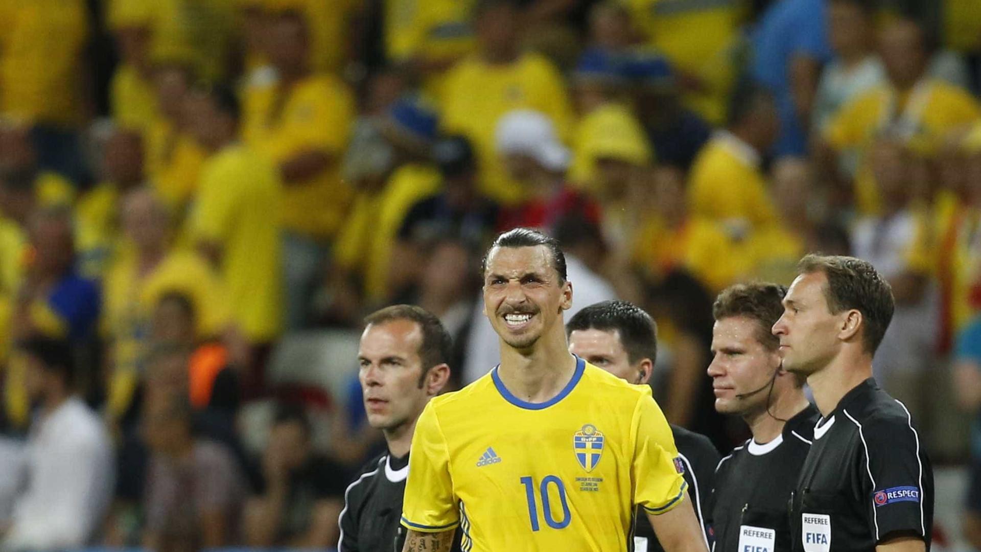 Tristeza de Buffon podia contrastar com alegria de... Ibrahimovic
