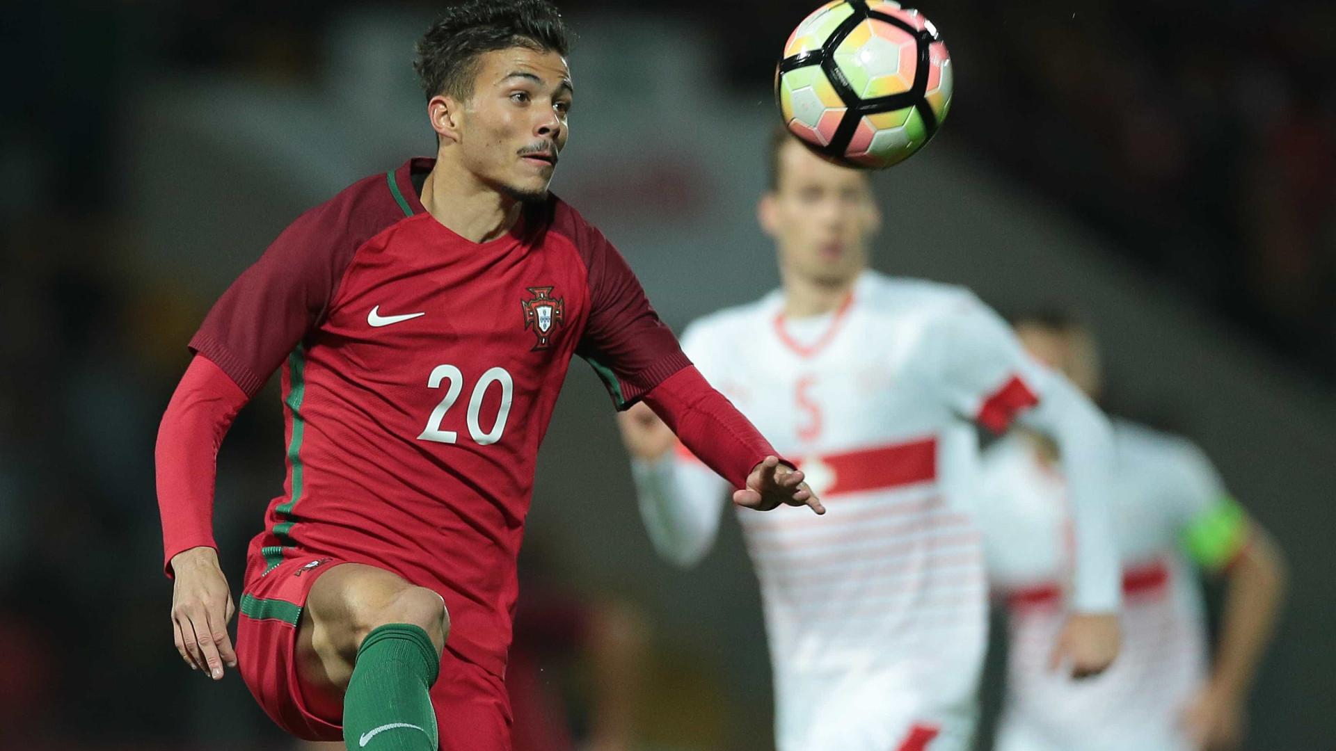Futebol: Europeu sub-21/ Portugal - Suíça (ficha)