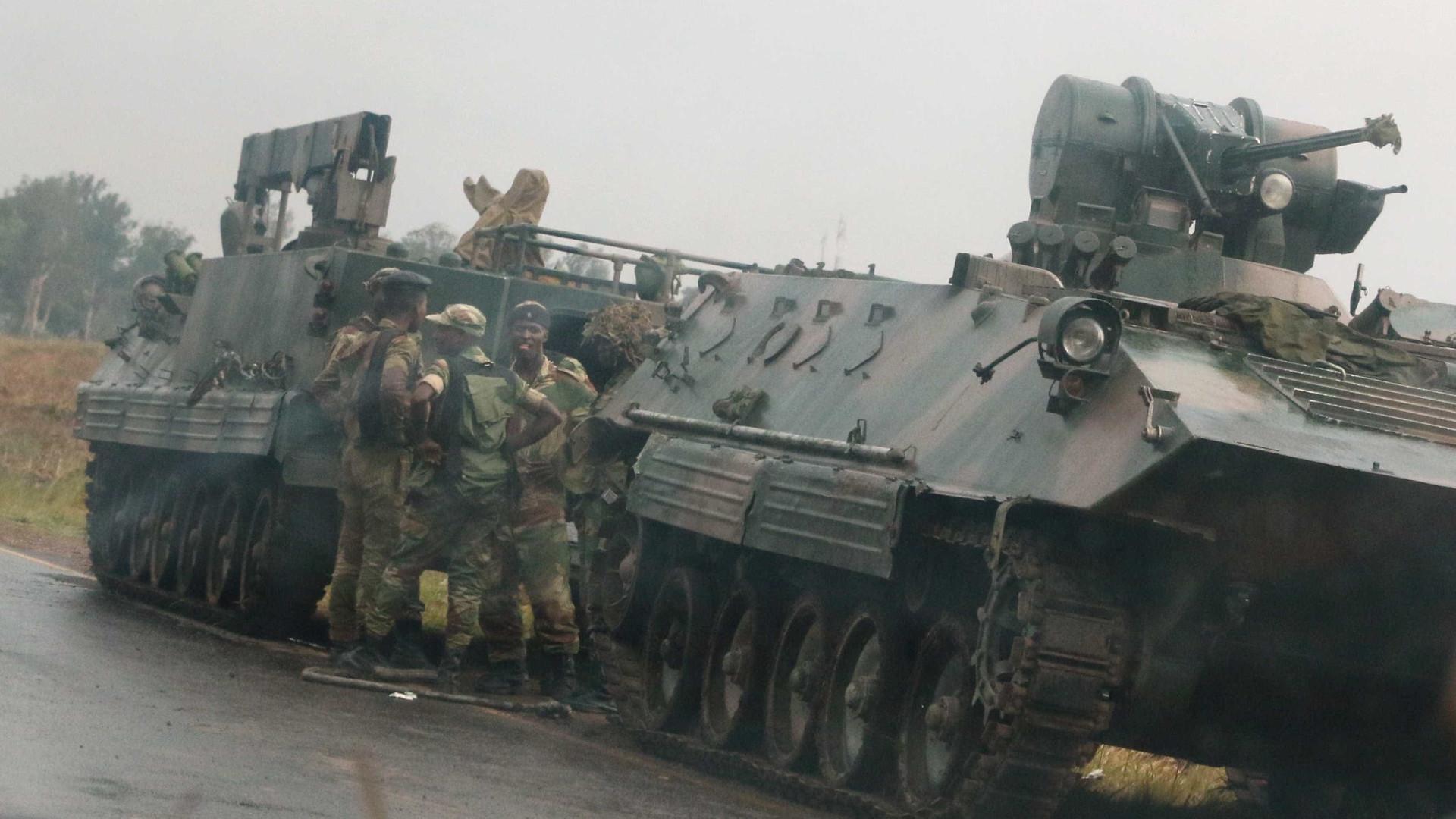 Portugueses devem evitar zonas de grande concentração no Zimbabué