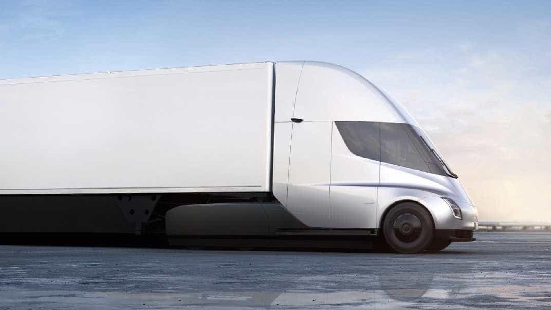 Uma empresa já encomendou 100 camiões elétricos da Tesla. Saiba qual é