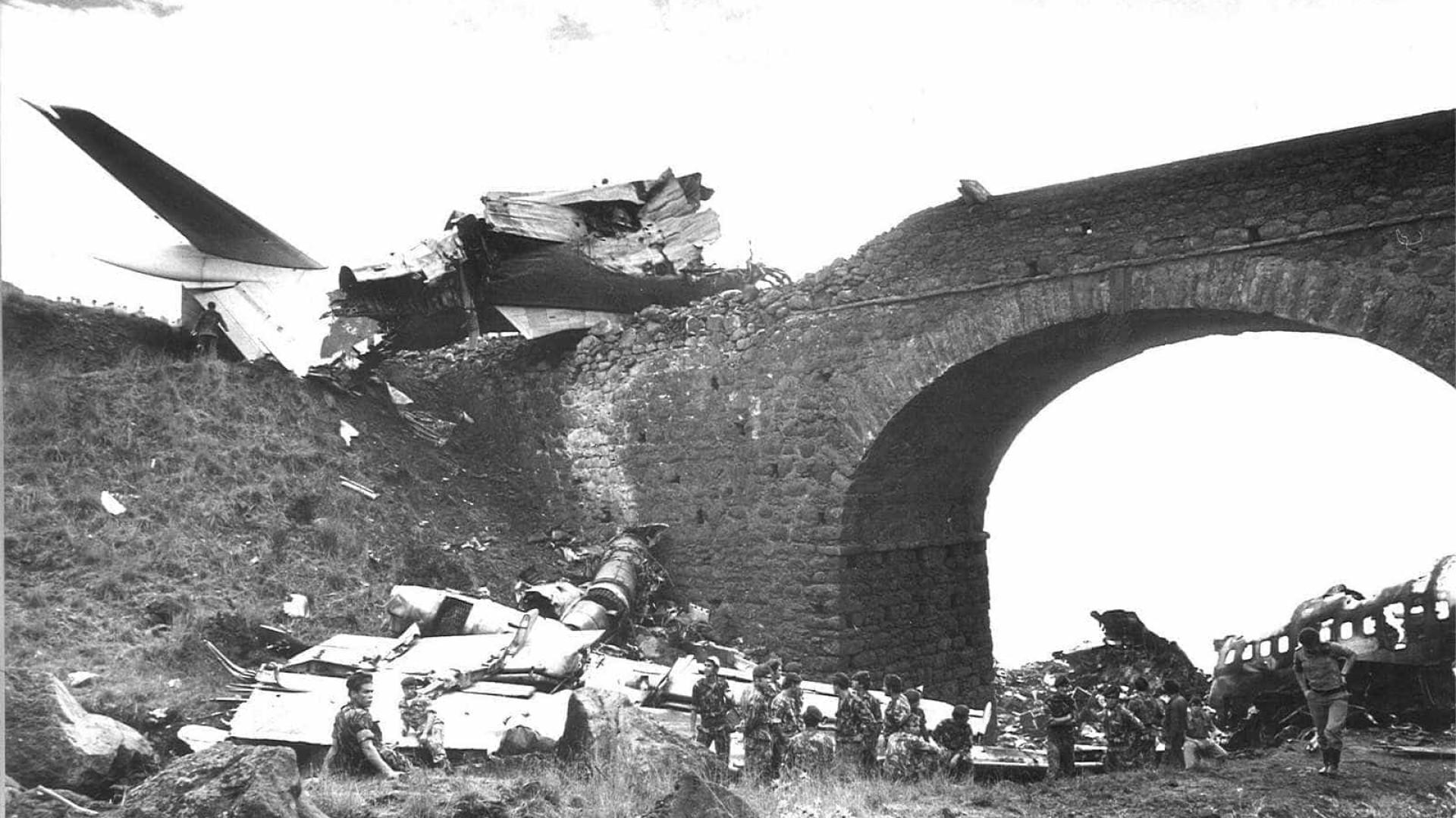 Um dos maiores desastres aéreos em solo português aconteceu há 40 anos