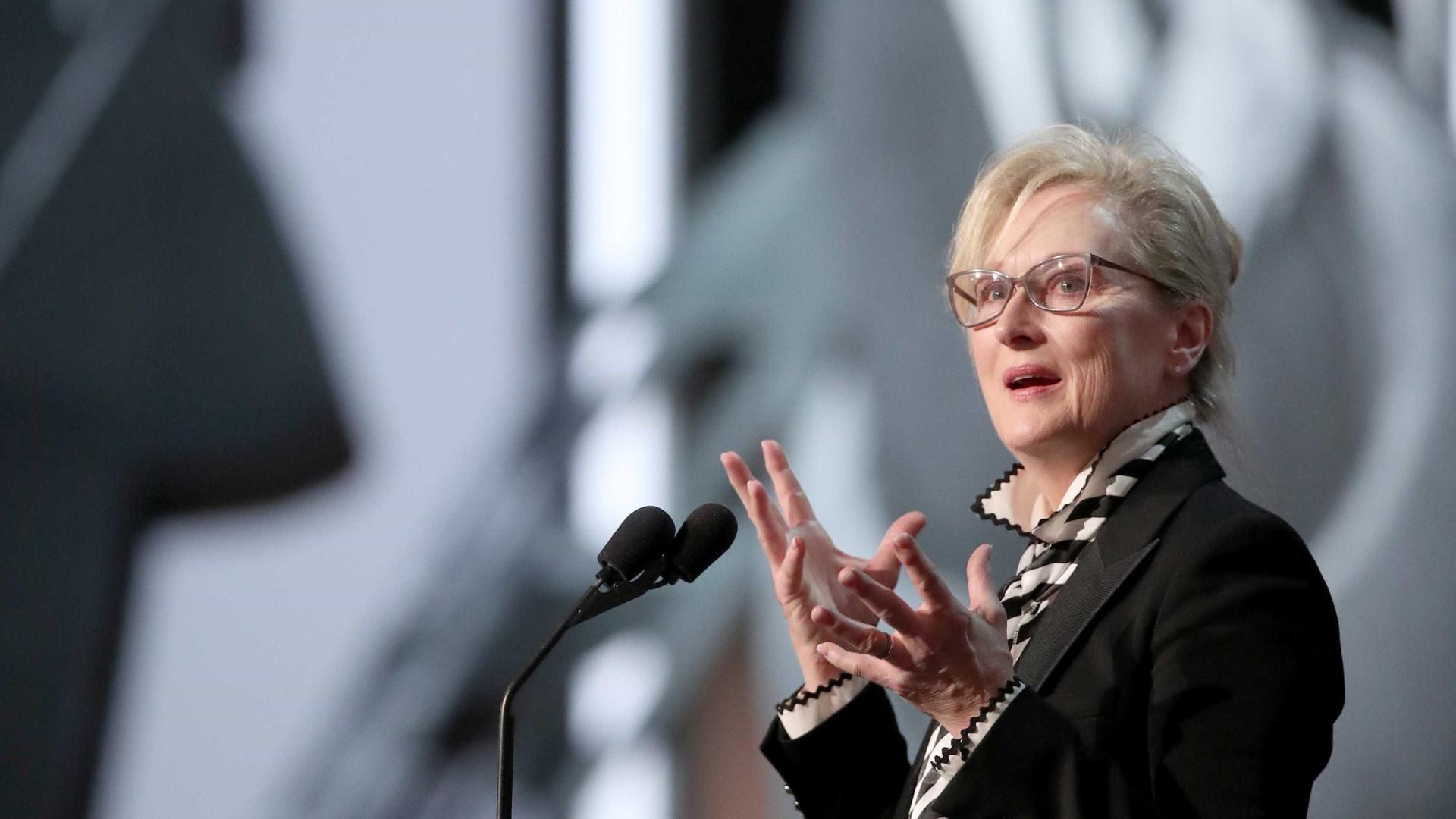"""Meryl Streep fala de dois casos traumáticos que a """"mudaram completamente"""""""