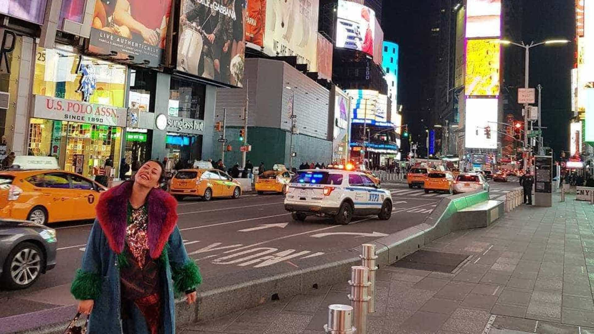 Sofia Ribeiro cumpre novo sonho… em Nova Iorque