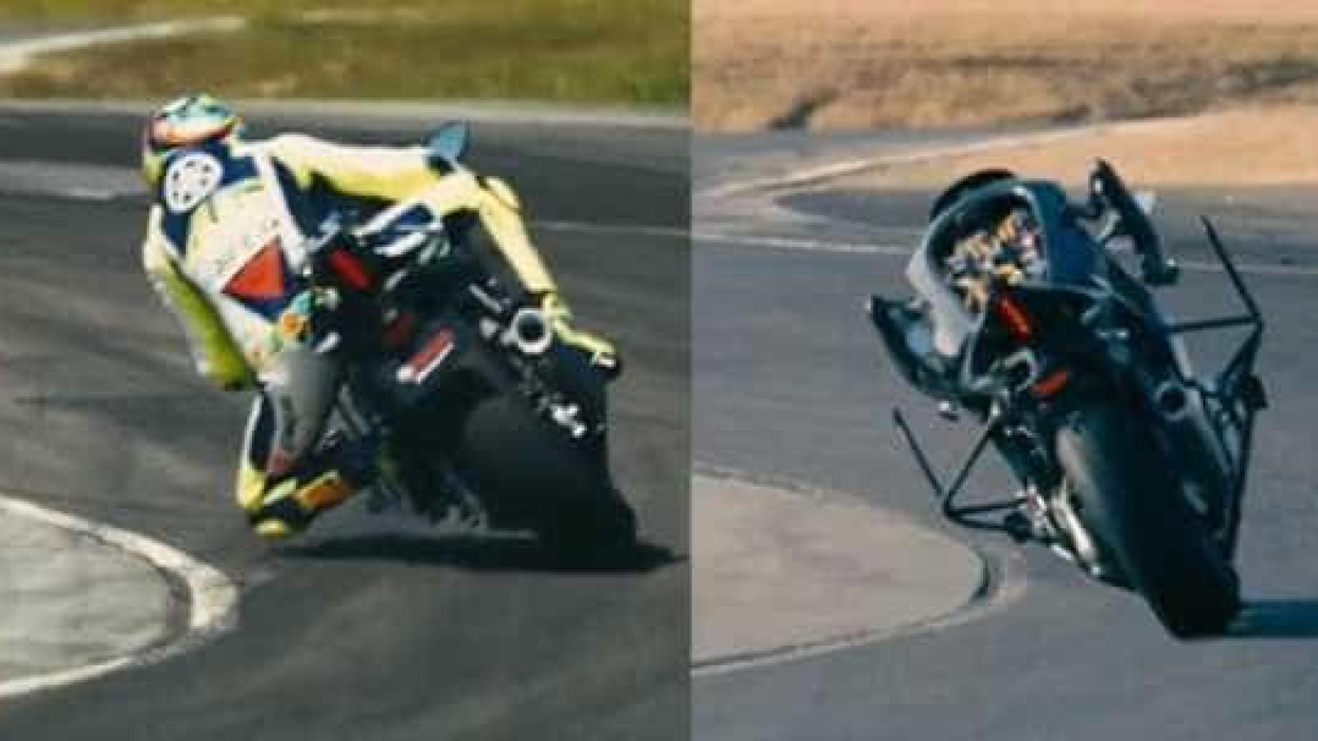 Esta moto autónoma da Yamaha tentou 'bater' Rossi. Será que conseguiu?