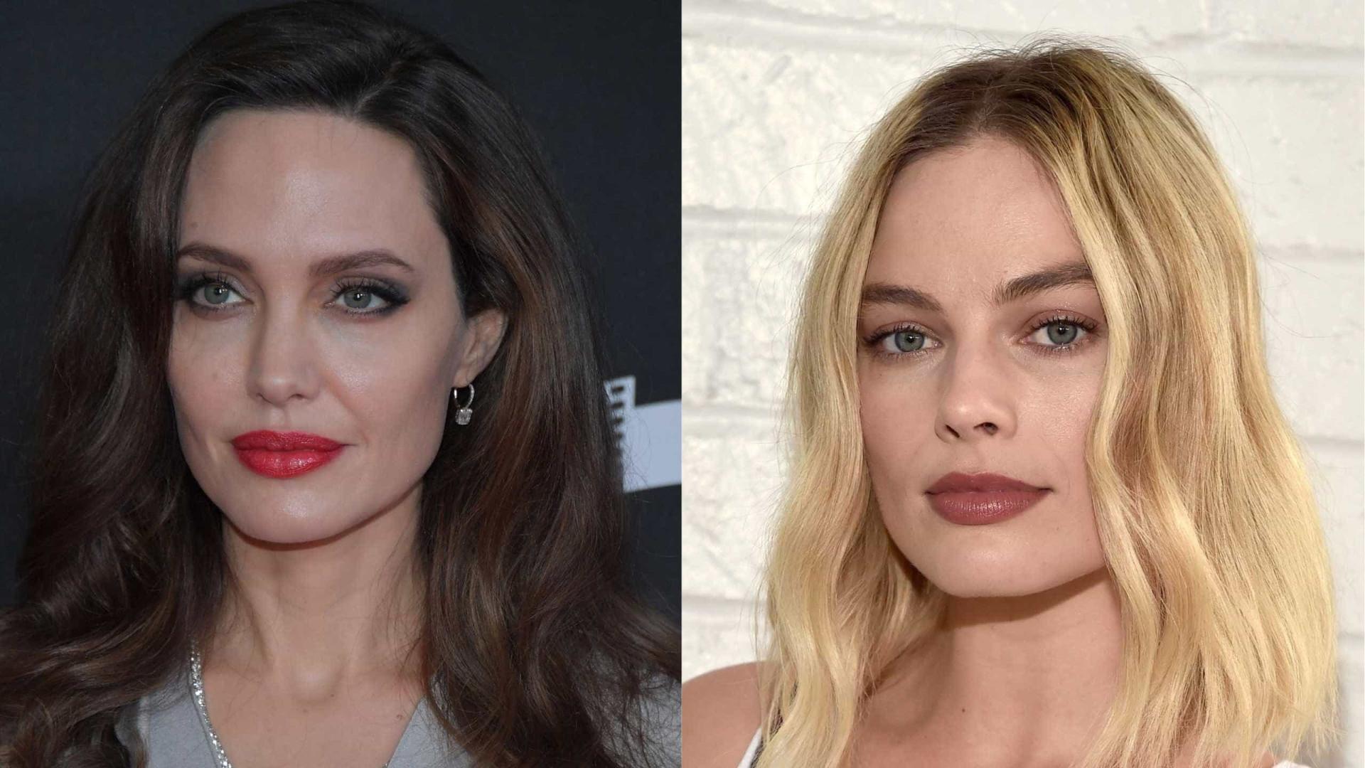 Angelina Jolie recusa cumprimentar Margot Robbie