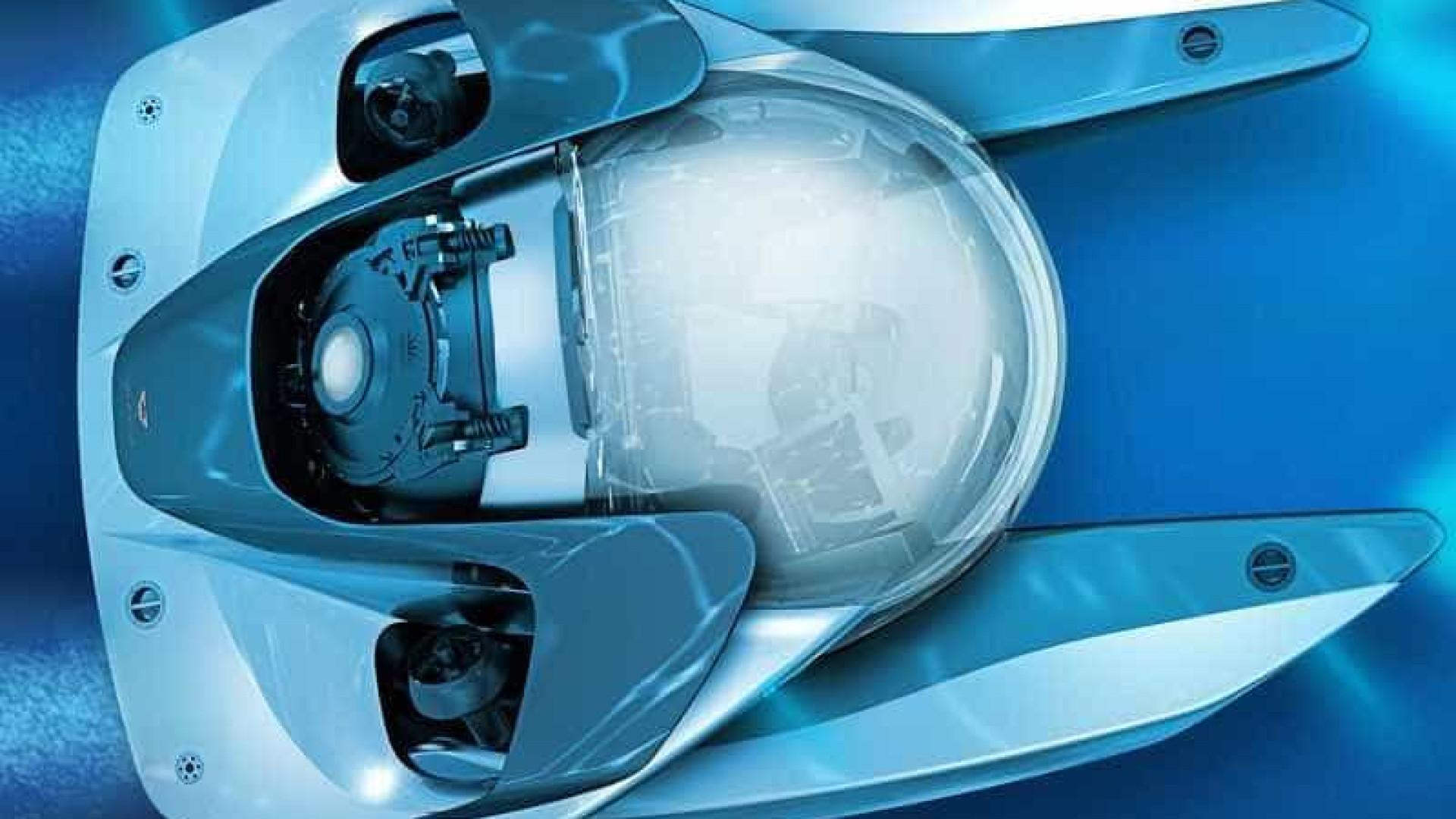 Depois das estradas, os mares: Já viu o submarino da Aston Martin?