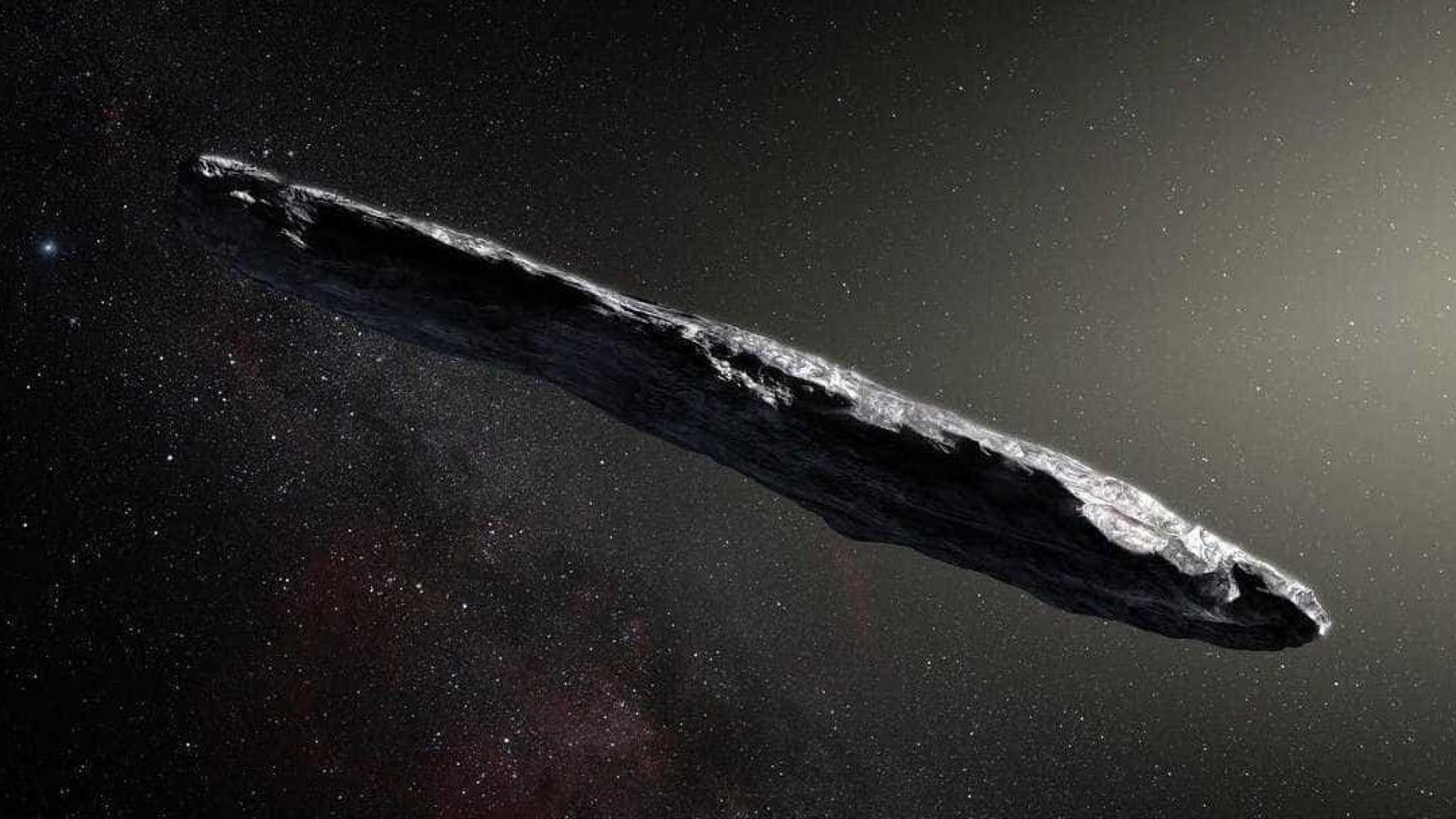 Primeiro asteróide detetado fora do sistema solar