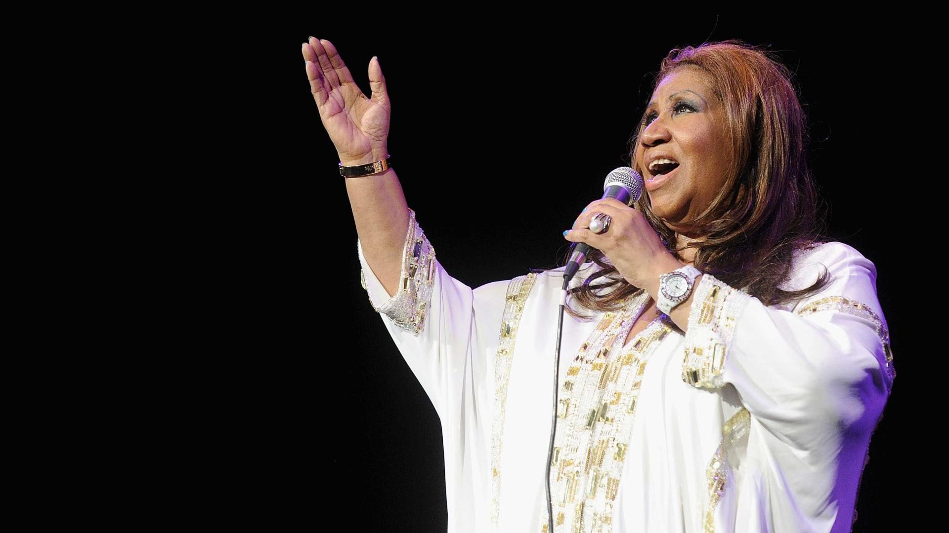 Morreu Aretha Franklin, a rainha do soul