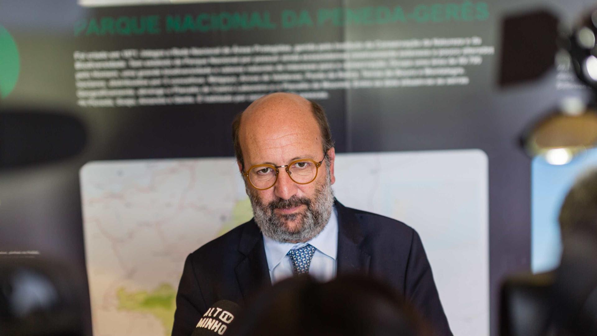 """Ministro garante que """"não vai faltar água nas torneiras dos portugueses"""""""
