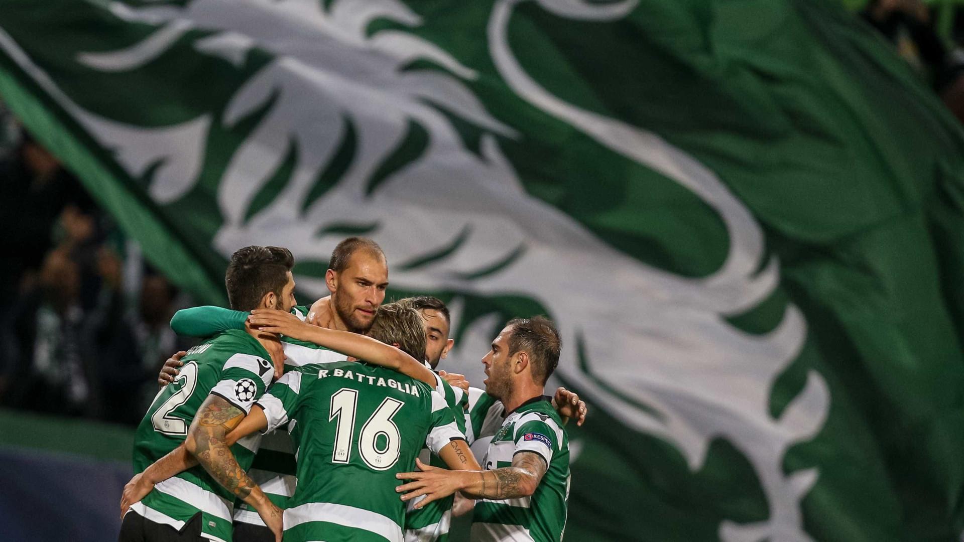 Resultado final: Sporting - Olympiacos, 3-1