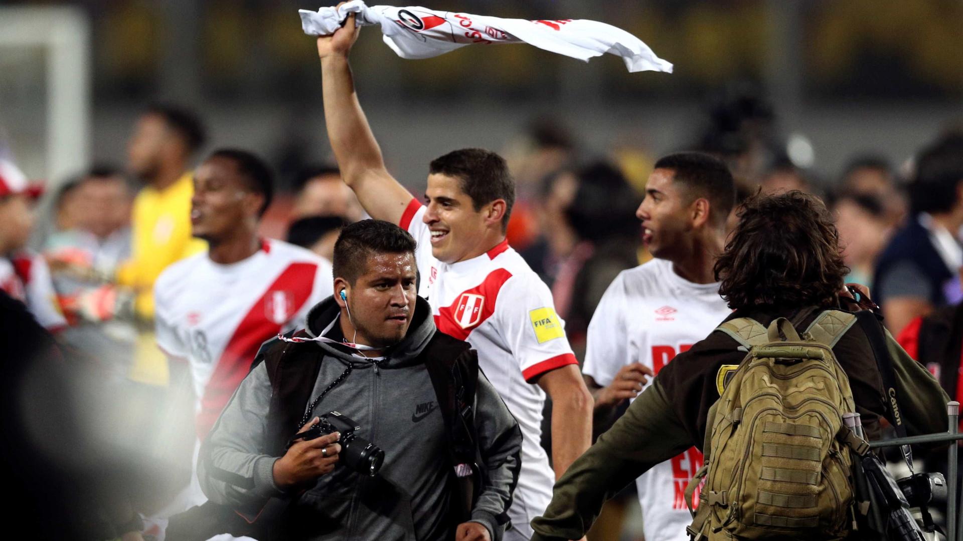 Peru fora do Mundial e a Itália a sonhar?