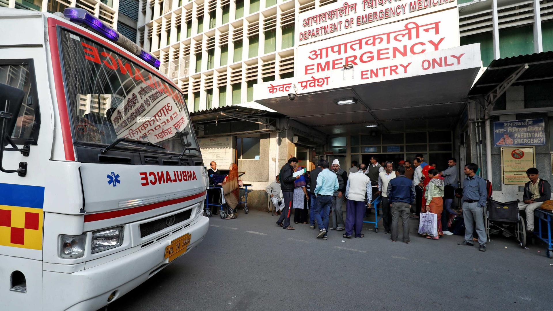 Pelo menos três mortos em descarrilamento de comboio na Índia