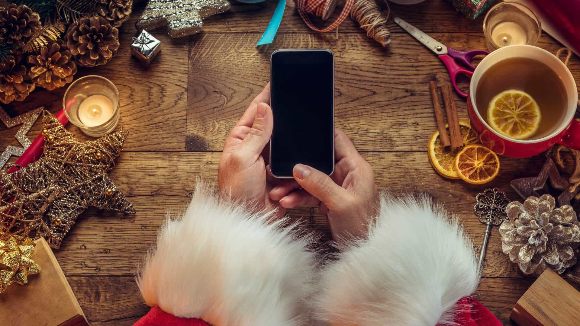 Mais emoção e menos tecnologia. Porque deve limitar os gadgets no Natal