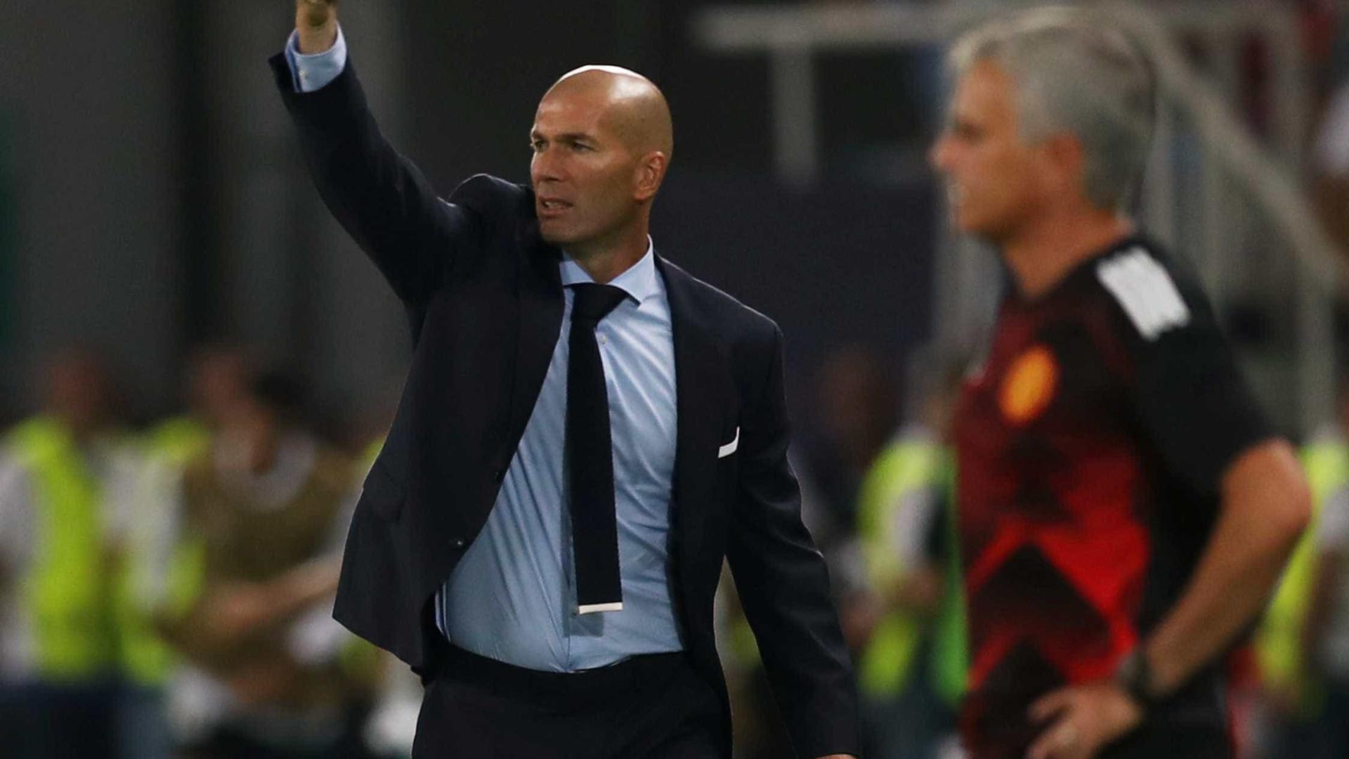 Roberto quase impediu o golo de Ronaldo e a vitória do Real