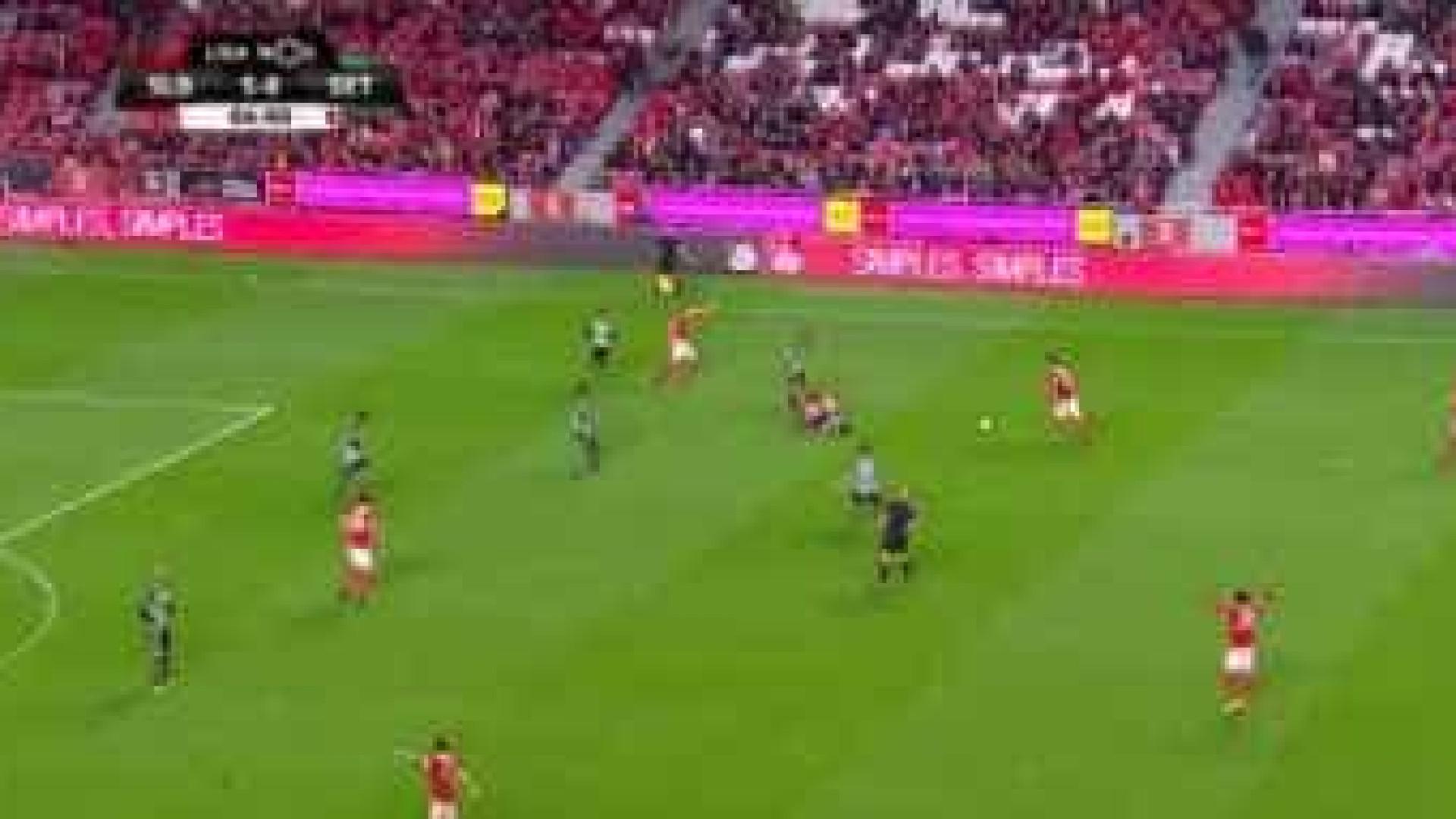 Jonas dedicou golo a jovem da equipa B — Benfica