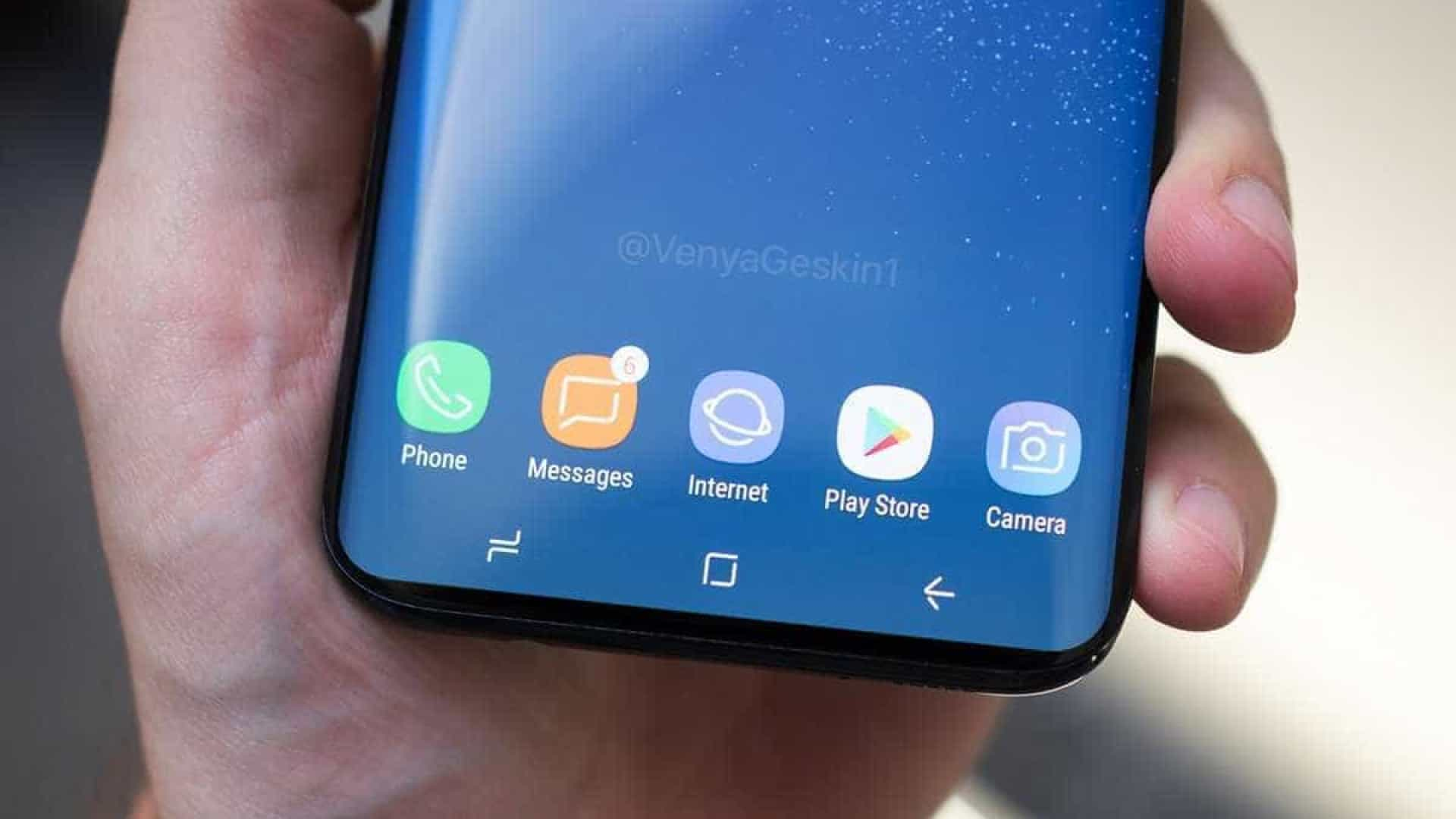 Estas podem ser as primeiras imagens do Galaxy S9