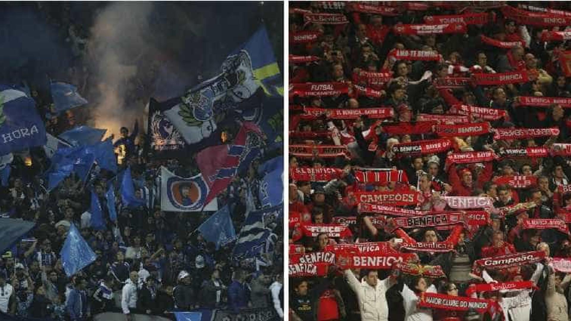 Clássico com Benfica dá 650 mil euros ao FC Porto
