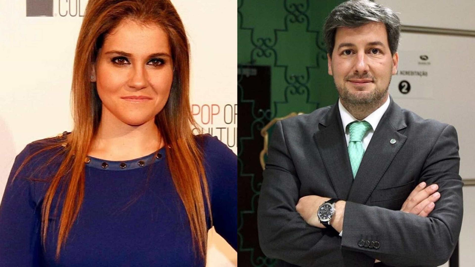 Ex-mulher de Bruno de Carvalho reage a crise no Sporting