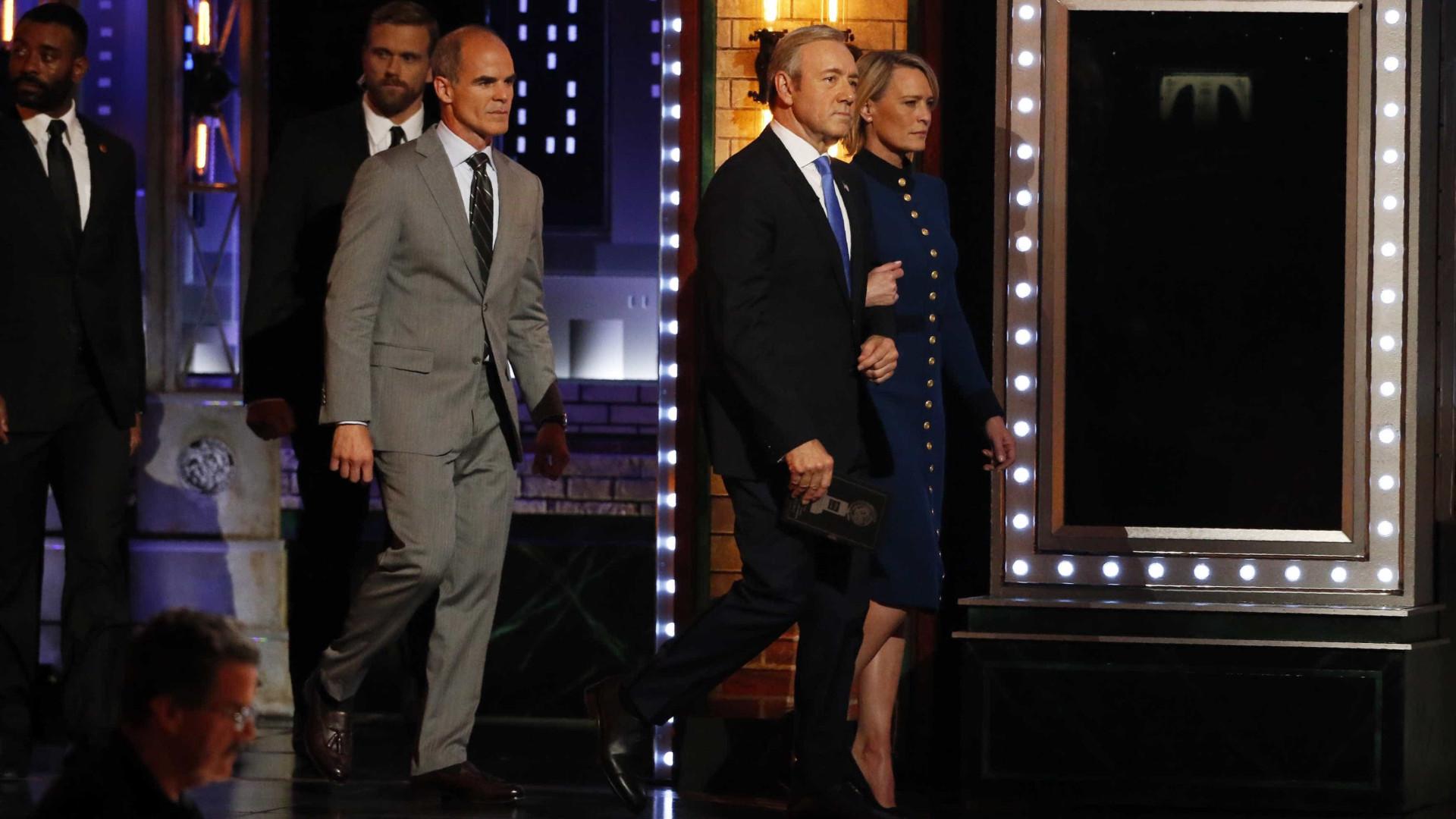 'House of Cards' retomará produção sem Kevin Spacey