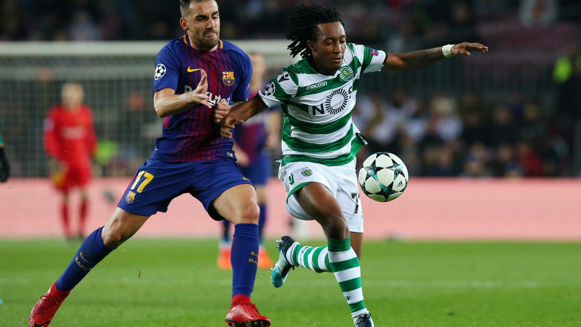 Exigências do Sporting atrasam Gelson e Atlético já consultou a FIFA