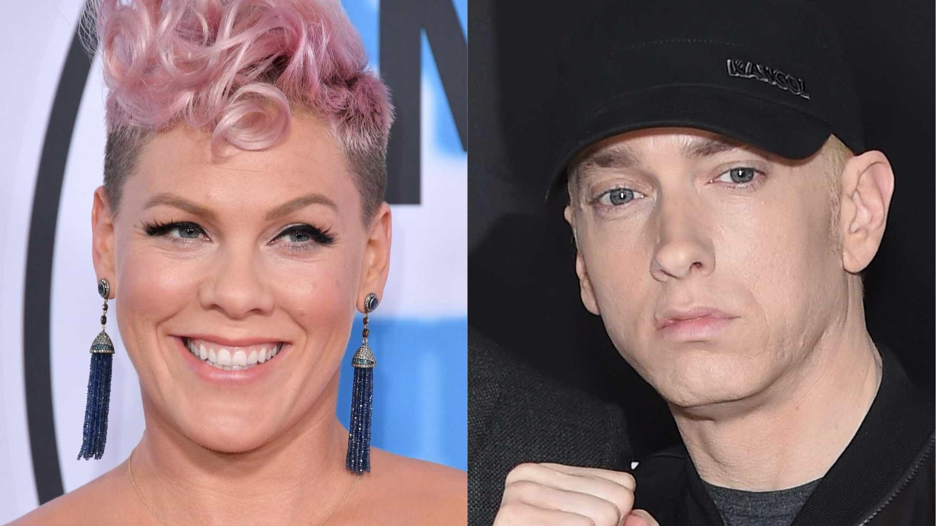 """Pink não vai lançar vídeo da música com Eminem: """"Gravámos e foi horrível"""""""