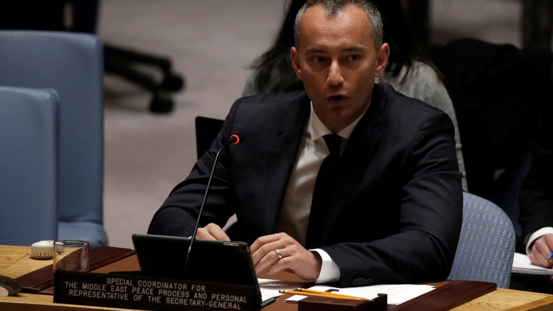 ONU diz que estatuto de Jerusalém deve ser negociado