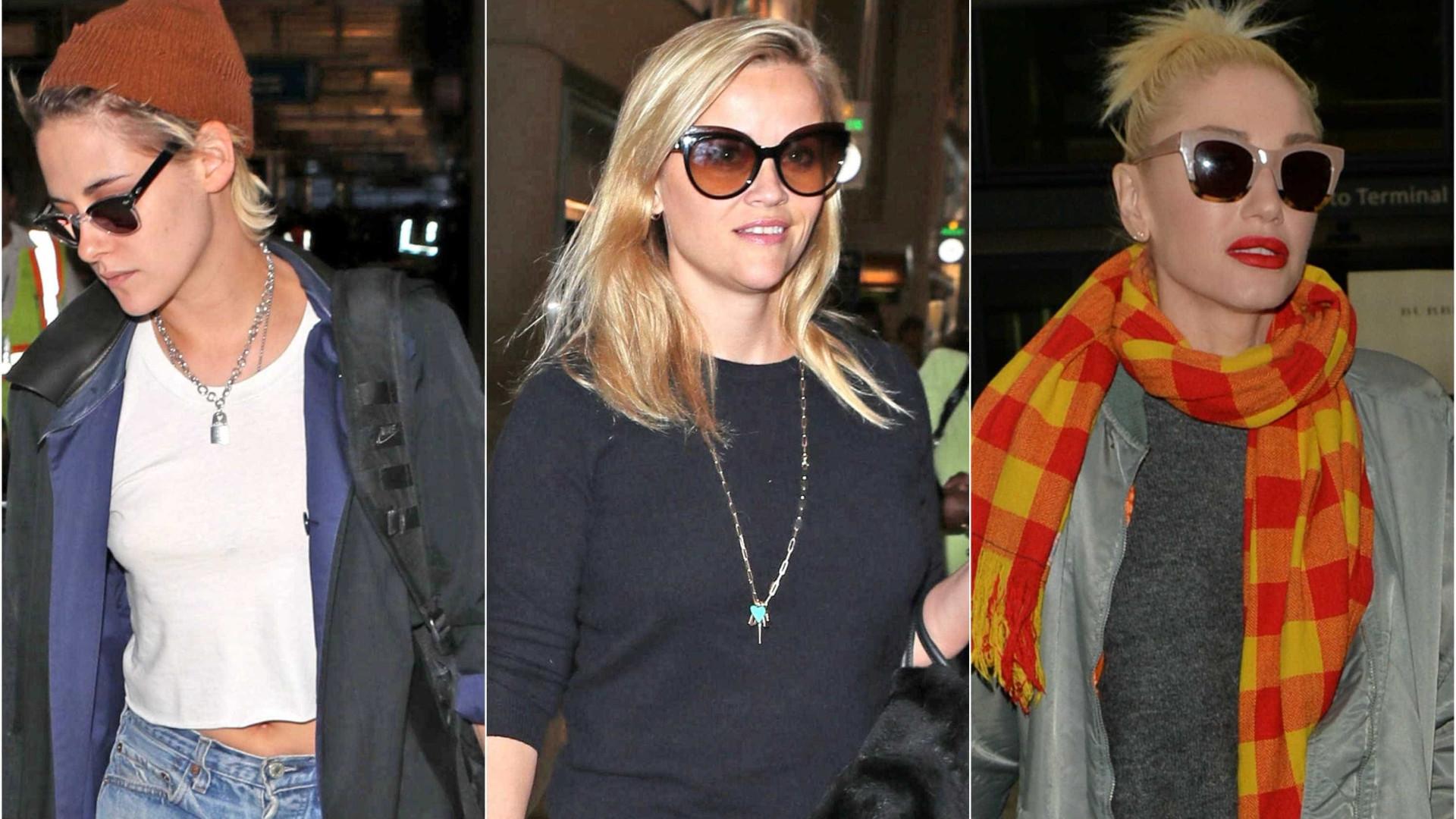 48a0f7026fe20 Para alguns destes famosos, os óculos escuros ou o gorro são absolutamente  indispensáveis.