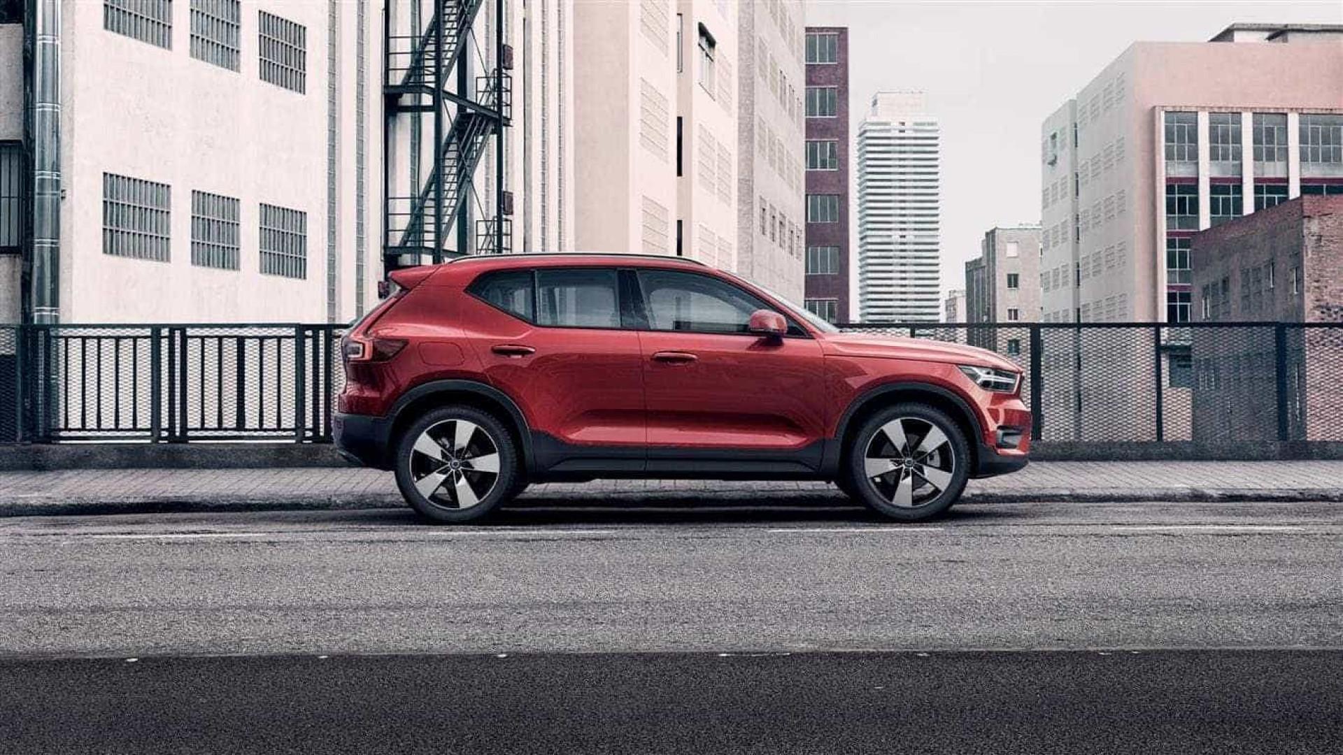A nova máquina da Volvo, o XC40 já tem data marcada em Portugal
