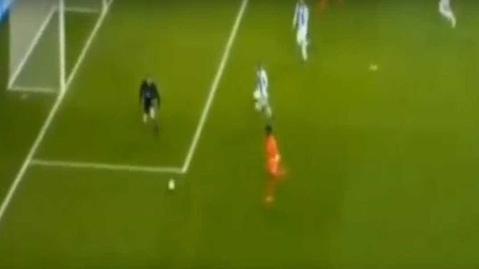 Falcao marcou, mas não festejou