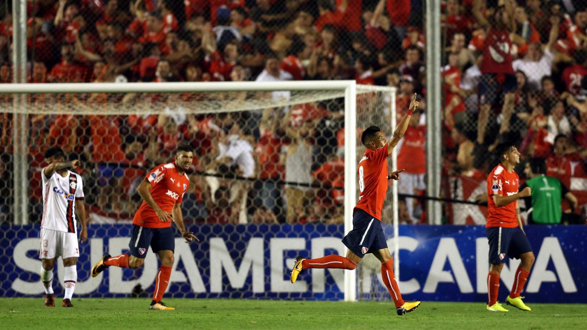Independiente entra a vencer na final da Taça Sul-americana