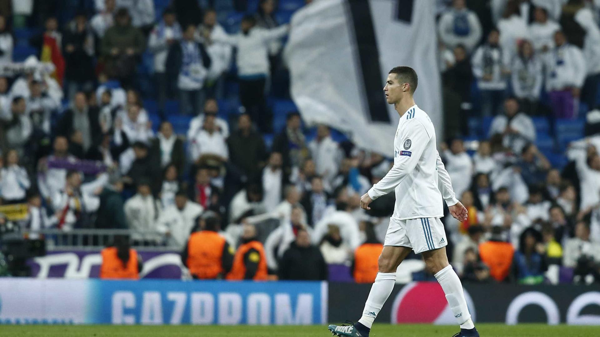 Champions: Ronaldo candidato a melhor jogador e melhor golo da jornada