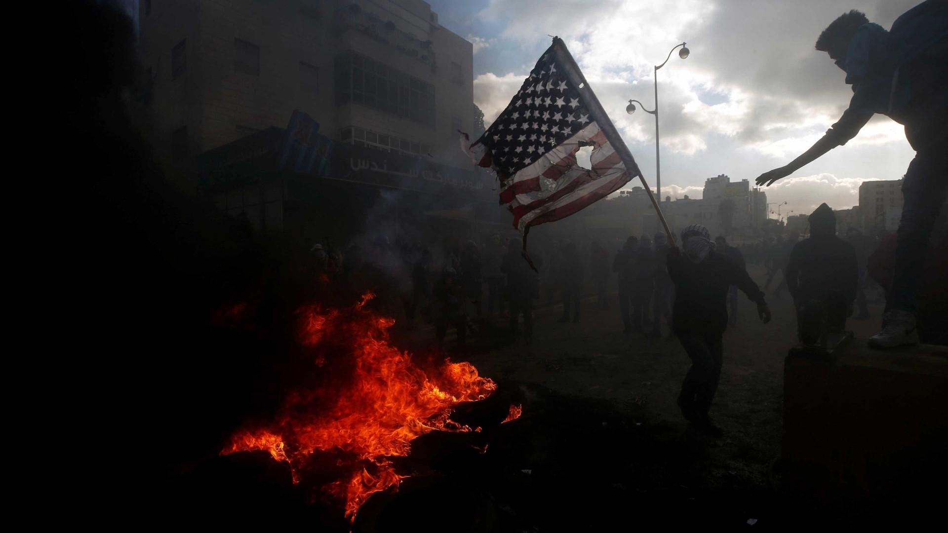 Confrontos e manifestações na Cisjordânia e na Faixa de Gaza
