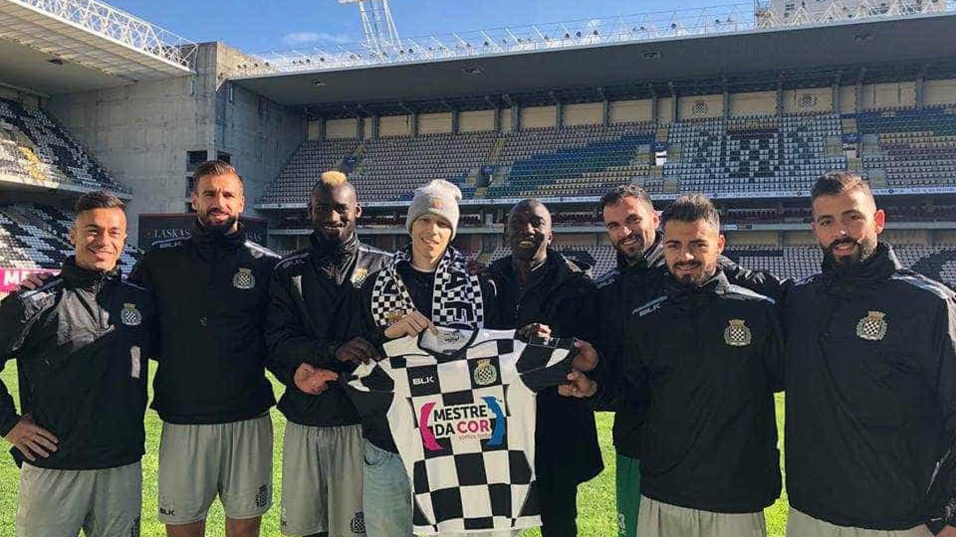 Boavista renova até 2019 com jogador que tem cancro
