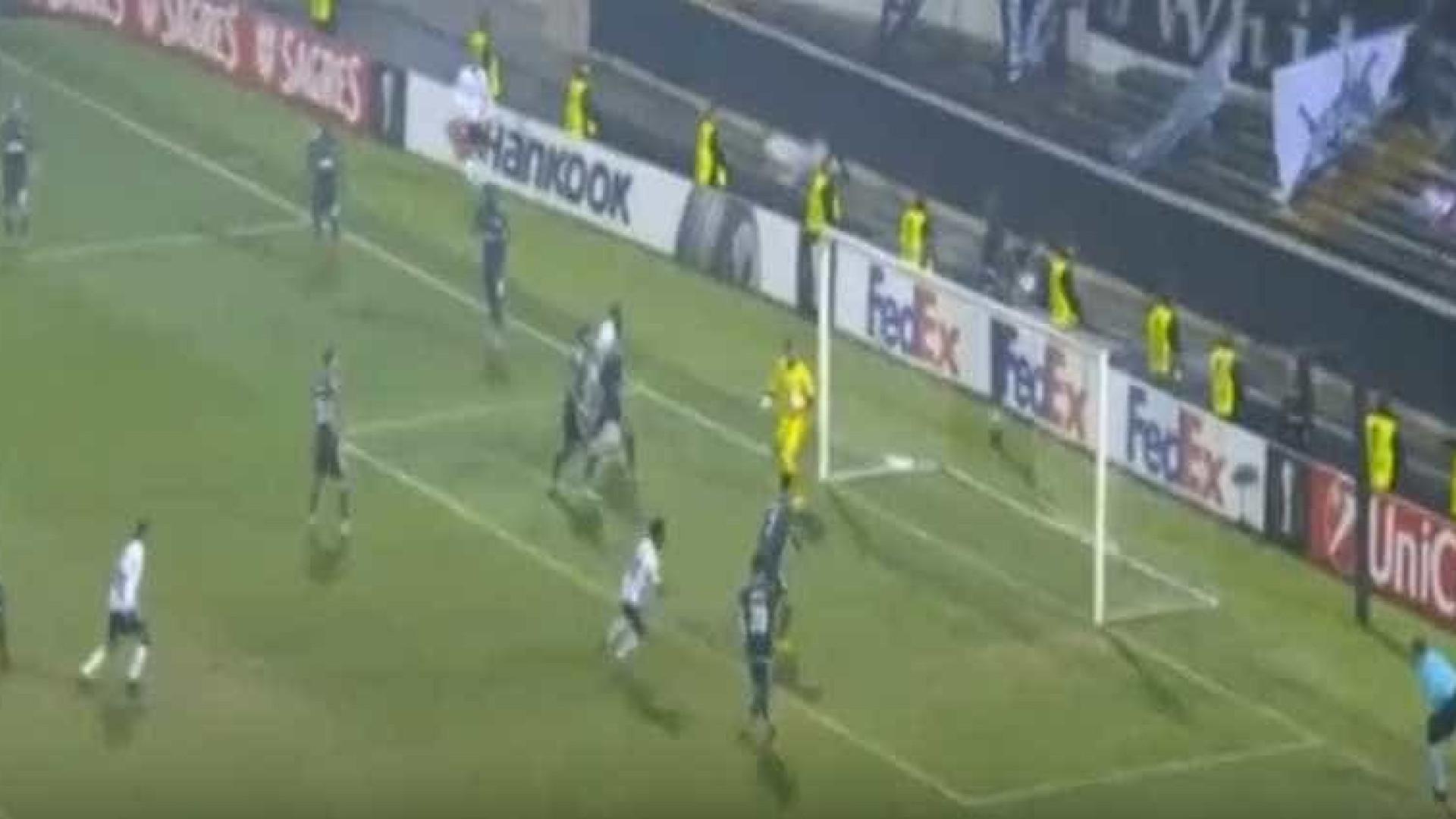 Autogolo de Ali Turan dá o empate ao Vitória de Guimarães