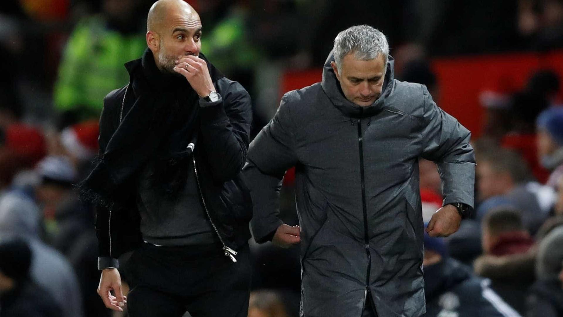 """""""Guardiola aproveitaria o plantel do United, não jogaria como Mourinho"""""""