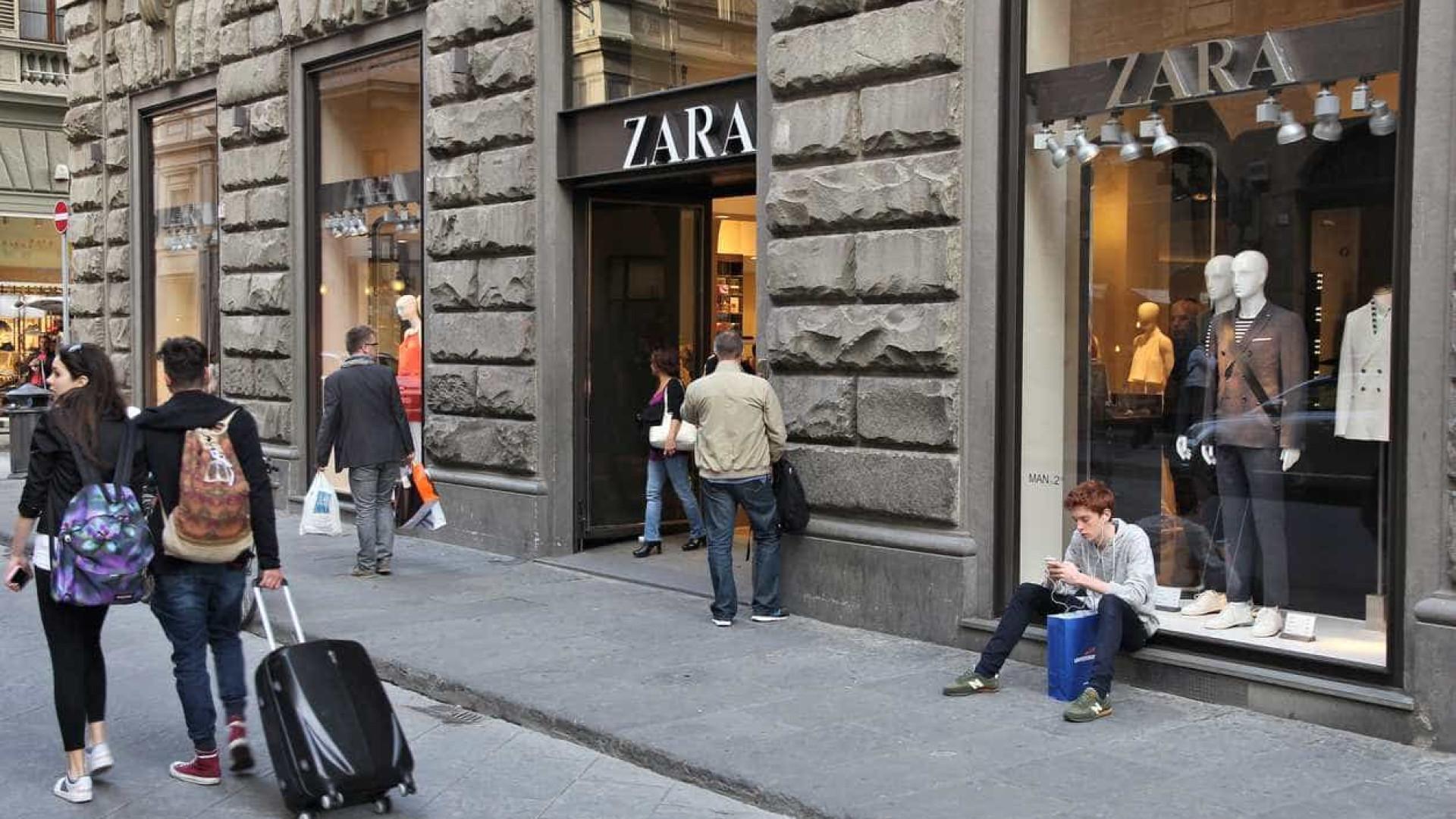 Lucros da dona da Zara crescem 6% entre fevereiro e outubro