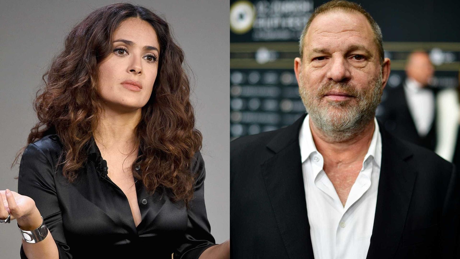 Atriz Salma Hayek denuncia assédio do produtor Harvey Weistein