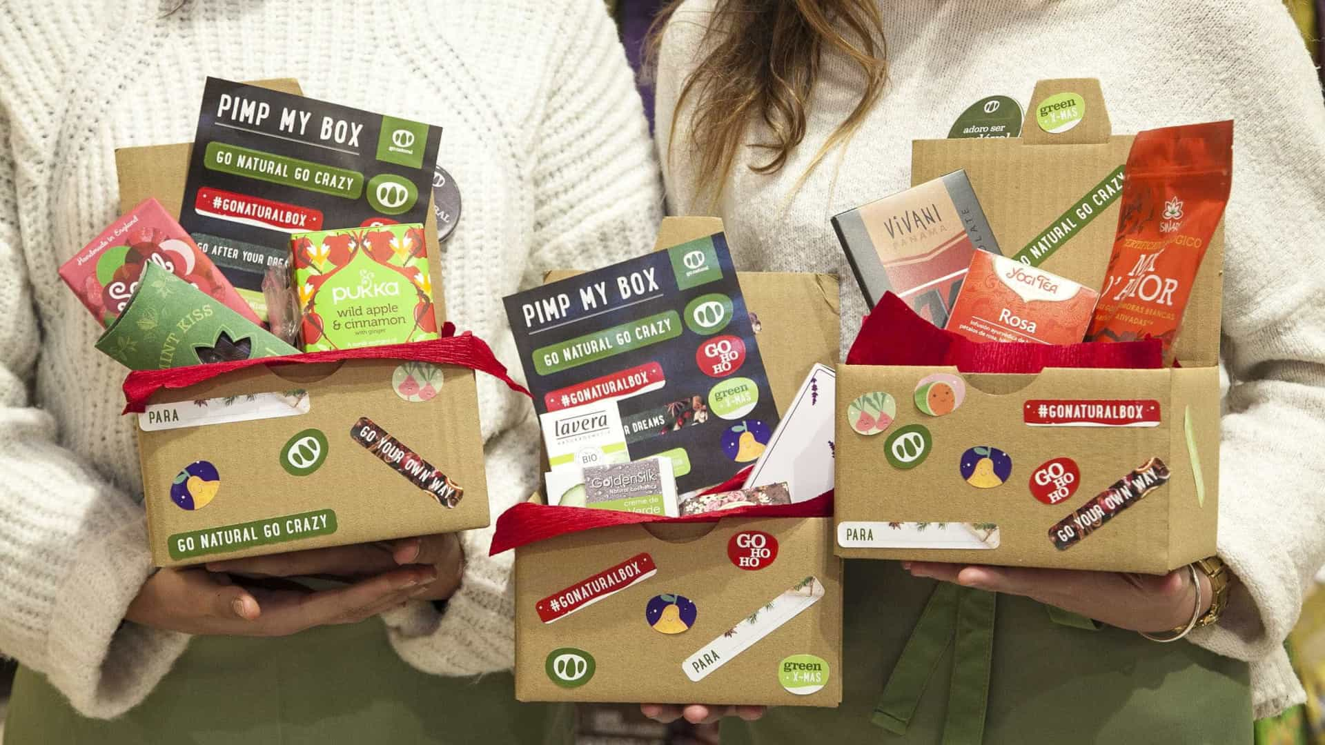 'Pimp my box'. Os presentes personalizados da Go Natural