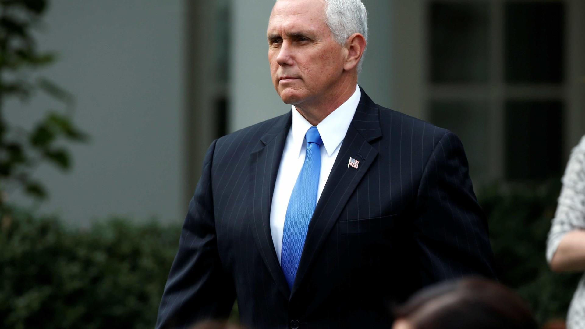 """Vice dos EUA diz-se orgulhoso por estar em """"Jerusalém, capital de Israel"""""""