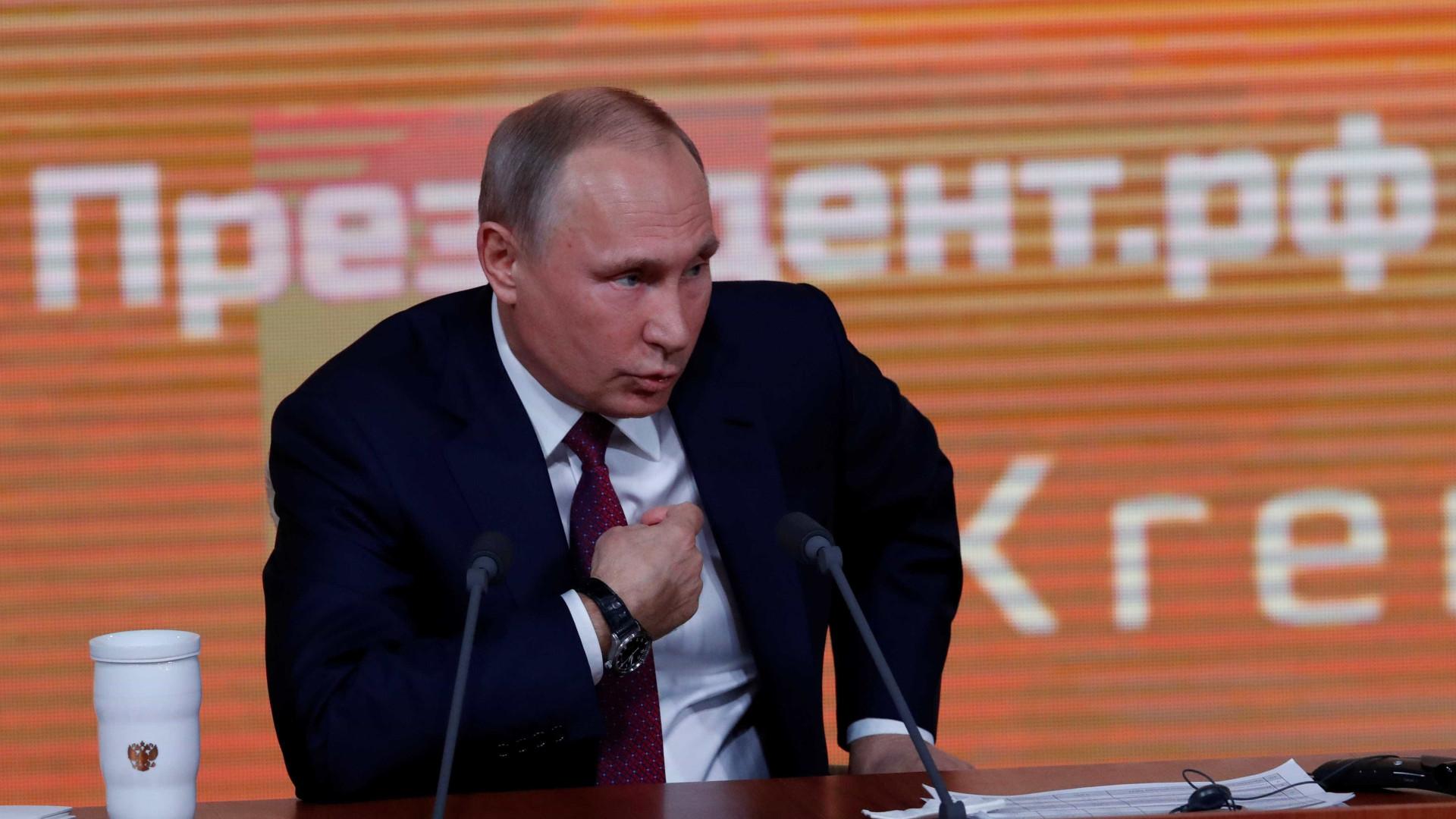 Casa Branca confirma conversa entre Trump e Putin sobre Coreia do Norte