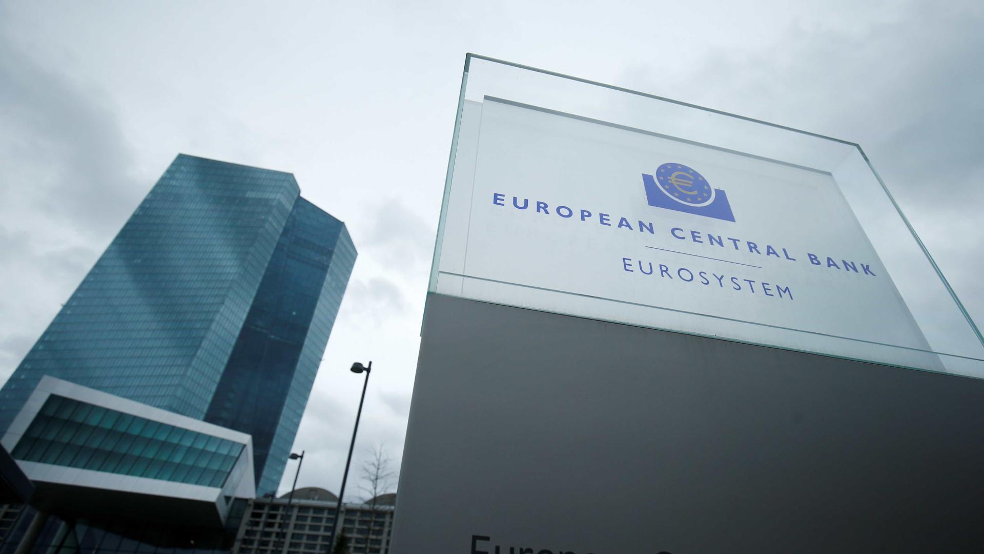 """BCE pede aos bancos que sejam """"conservadores e prudentes"""" nos dividendos"""