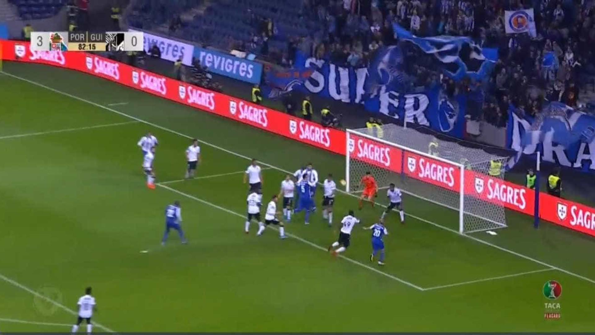 Taça de Portugal. FC Porto goleia Vitória de Guimarães (4-0)
