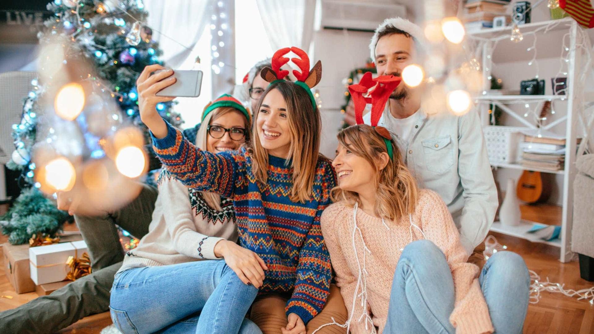 Natal está aí e o Facebook vai ajudá-lo a entrar no espírito natalício