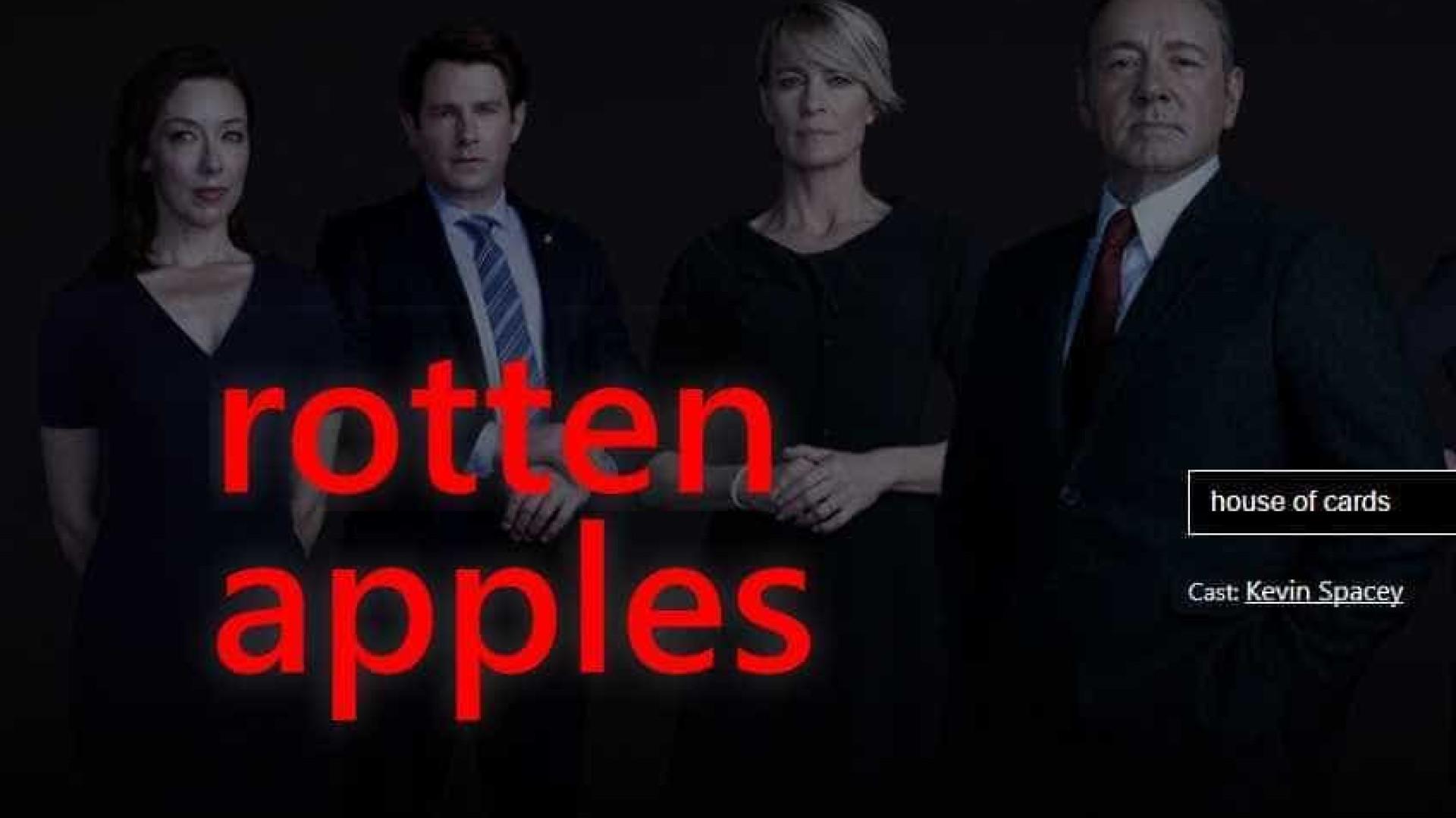 Assédio: Site revela se filmes e séries contam com 'maçãs podres'