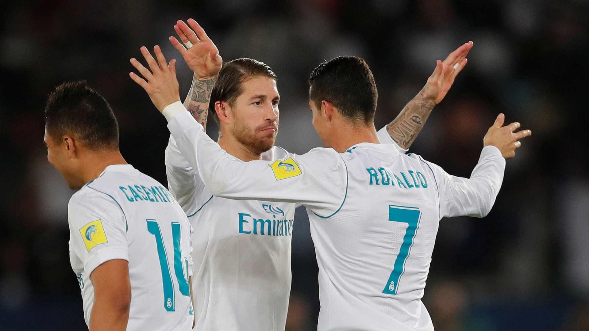 Ronaldo distinguido como melhor jogador do Mundo nos Globe Soccer Awards