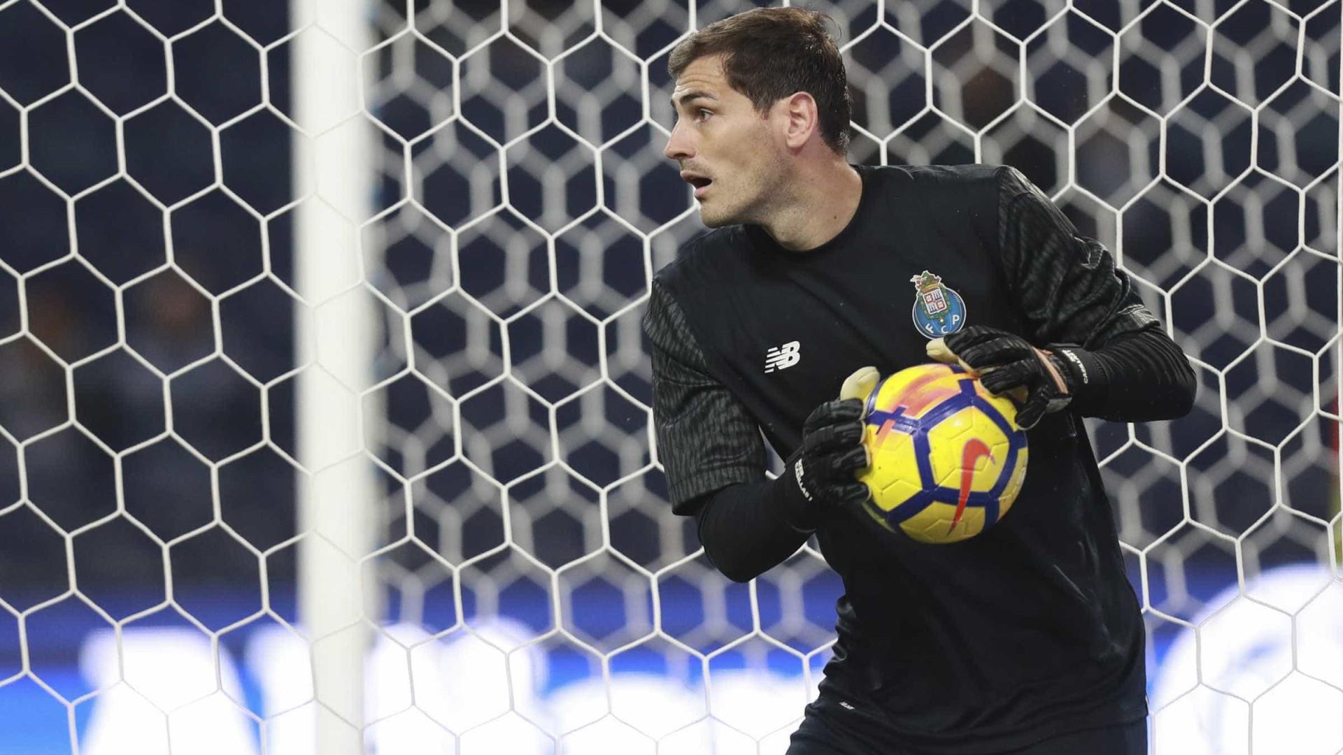 Casillas já terá pedido para rumar à Premier League em janeiro